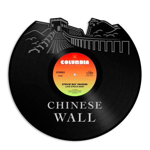 Chinese Wall Vinyl Wall Art