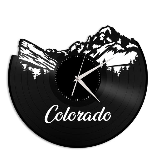 Colorado Vinyl Wall Clock New Design
