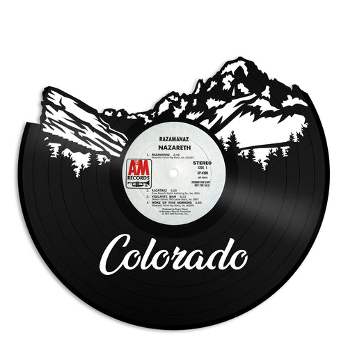 Colorado Vinyl Wall Art New Design