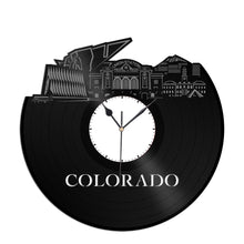 Colorado Vinyl Wall Clock
