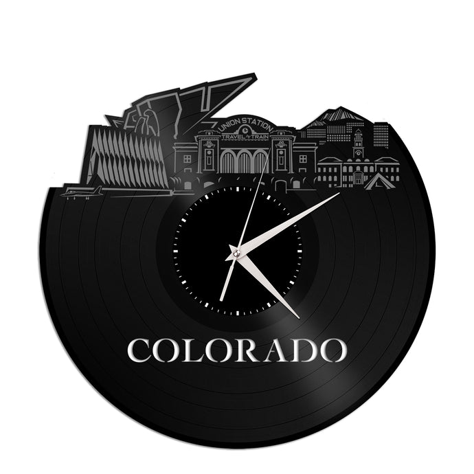 Colorado Vinyl Wall Clock - VinylShop.US