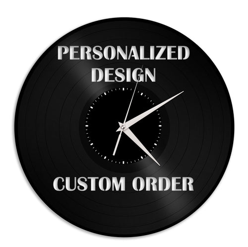 Personalized Custom Wall Clock - VinylShop.US