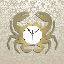 Crab Nursery Vinyl Wall Clock - VinylShop.US