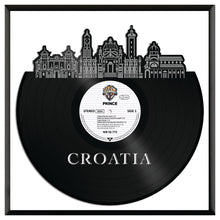 Croatia Vinyl Wall Art