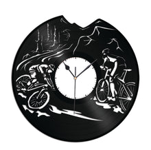 Cycling Vinyl Wall Clock - VinylShop.US
