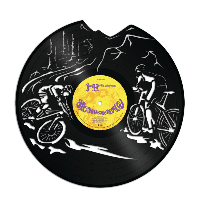 Cycling Vinyl Wall Art - VinylShop.US