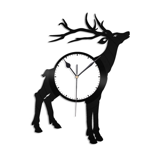 Deer Vinyl Wall Clock - VinylShop.US