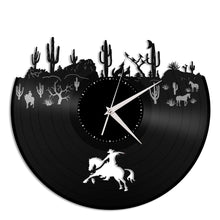 Desert Theme Vinyl Wall Clock