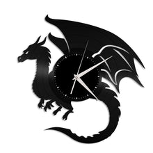 Dragon Vinyl Wall Clock - VinylShop.US