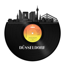Düsseldorf skyline German skyline Vinyl Wall Art - VinylShop.US