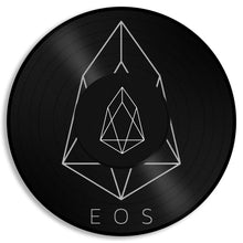 EOS Coin Wall Art - VinylShop.US