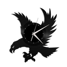 Eagle Vinyl Wall Clock