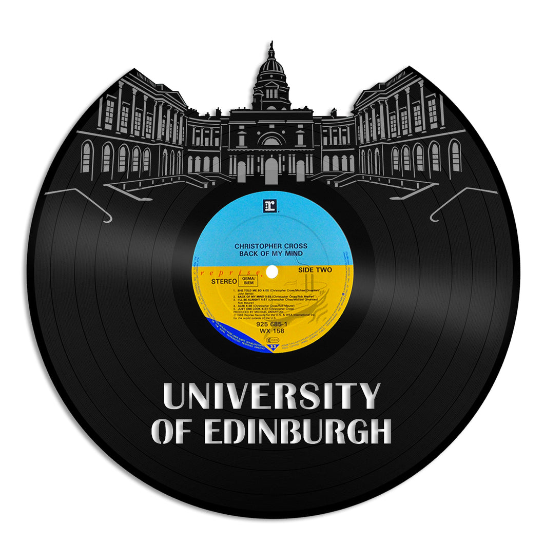 Edinburgh University Vinyl Wall Art - VinylShop.US