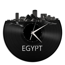 Egypt skyline Vinyl Wall Clock - VinylShop.US