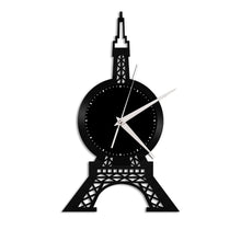 Eiffel Tower Vinyl Wall Clock - VinylShop.US