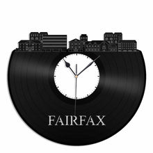 Fairfax Vinyl Wall Clock