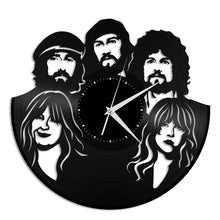 Fleetwood Mac Vinyl Wall Clock