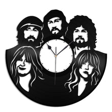 Fleetwood Mac Vinyl Wall Clock - VinylShop.US