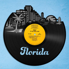 Florida skyline Vinyl Wall Art - VinylShop.US