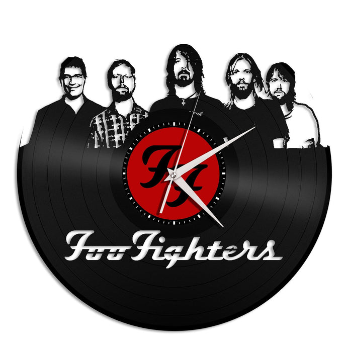 Foo Fighters Vinyl Wall Clock - VinylShop.US