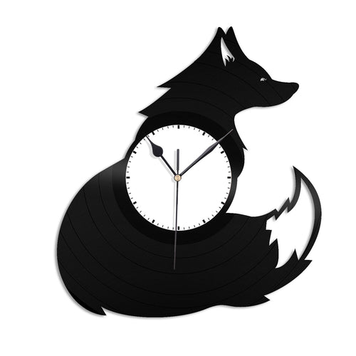 Fox Vinyl Wall Clock - VinylShop.US