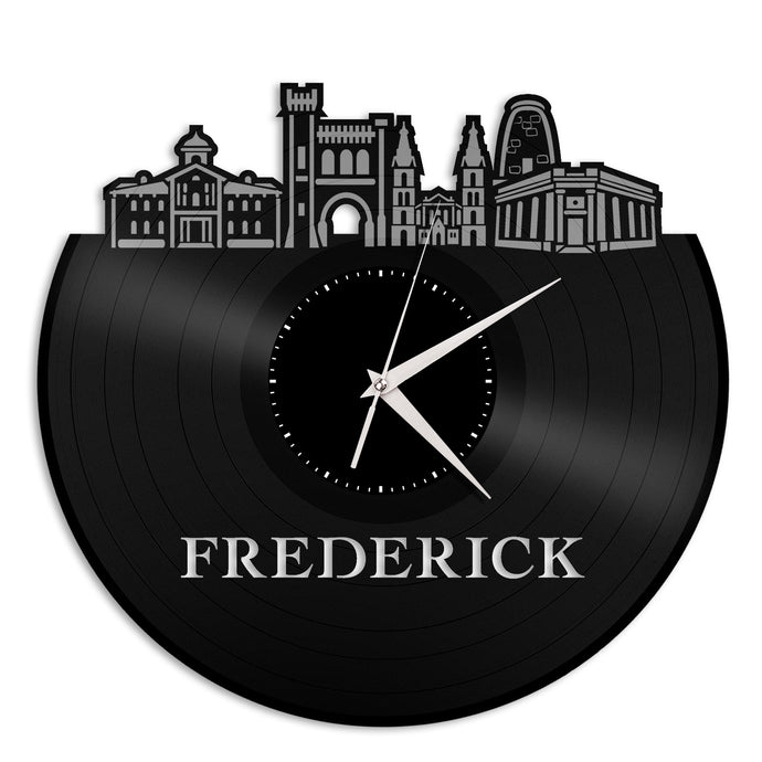 Frederick MD Vinyl Wall Clock