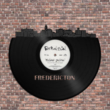 Fredericton New Brunswick Skyline Vinyl Wall Art - VinylShop.US