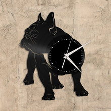 French Bulldog 2 Vinyl Wall Clock - VinylShop.US