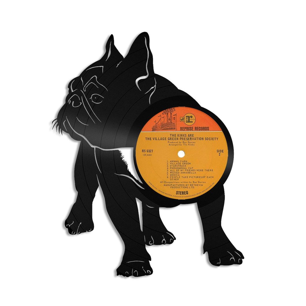 French bulldog 2 Vinyl Wall Art - VinylShop.US