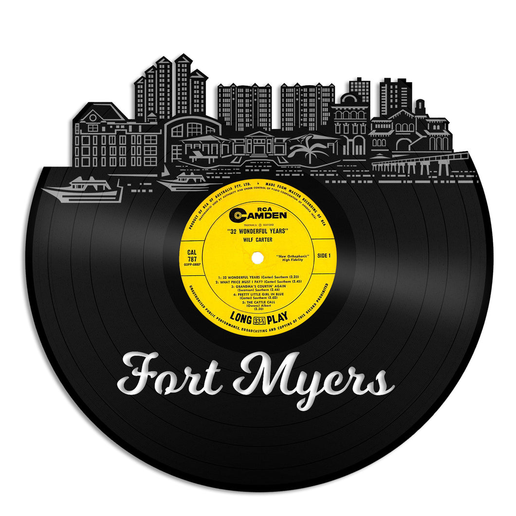 Fort Myers Florida Vinyl Wall Art