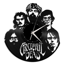 Grateful Dead Vinyl Wall Clock