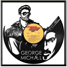 George Michael Vinyl Wall Art - VinylShop.US