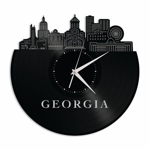 Georgia New Design Vinyl Wall Clock
