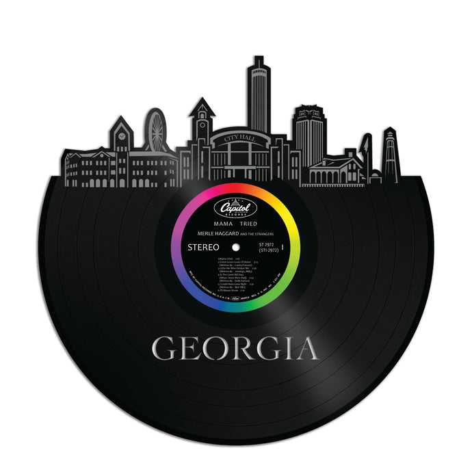 Georgia Vinyl Wall Art