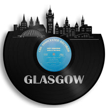 Glasgow Skyline Vinyl Wall Art - VinylShop.US