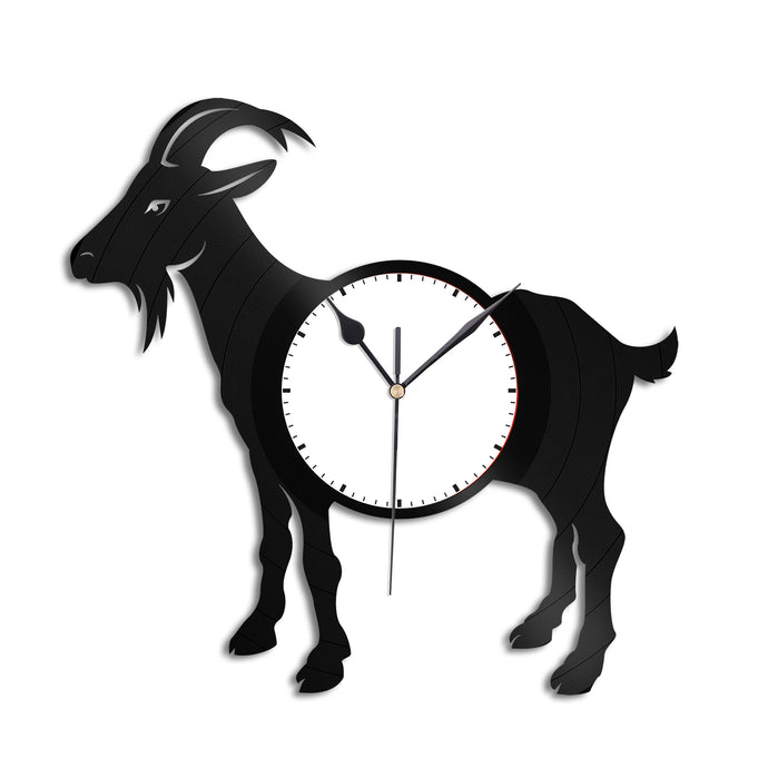 Goat Vinyl Wall Clock