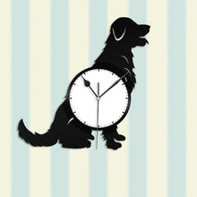 Golden Retriever Vinyl Wall Clock - VinylShop.US