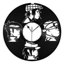 Gorillaz Musician Band Design Vinyl Wall Clock - VinylShop.US