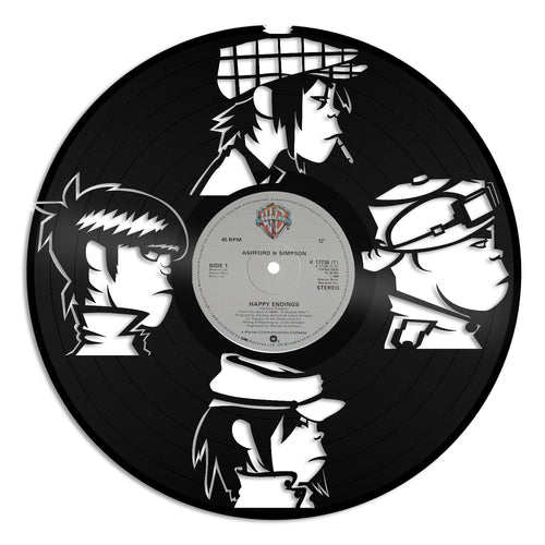 Gorillaz Band Musician Design Vinyl Wall Art - VinylShop.US