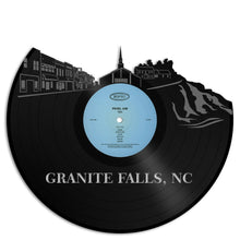 Granite Falls NC Vinyl Wall Art - VinylShop.US