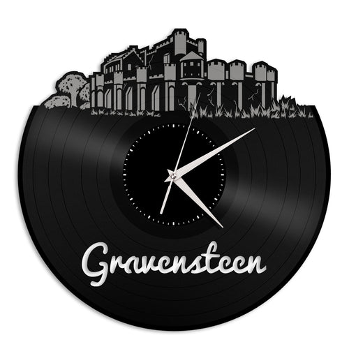 Gravensteen Vinyl Wall Clock