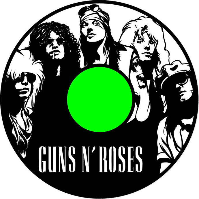 Guns and Roses Wall Art BL and appetite for destruction label