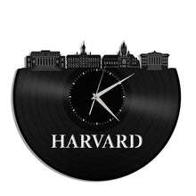 Harvard University Vinyl Wall Clock - VinylShop.US