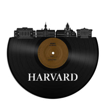 Unique Vinyl Wall Clock Harvard