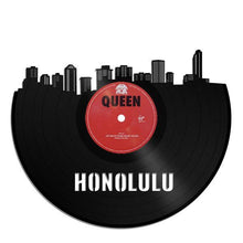 Honolulu Skyline Vinyl Wall Art - VinylShop.US