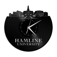 Hamline University MN Vinyl Wall Clock