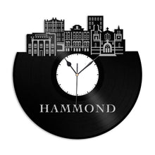Hammond IN Vinyl Wall Clock