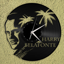Harry Belfonte Vinyl Wall Clock - VinylShop.US