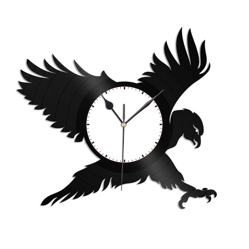Hawk Vinyl Wall Clock - VinylShop.US