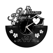 Housewarming Decor Vinyl Wall Clock - VinylShop.US